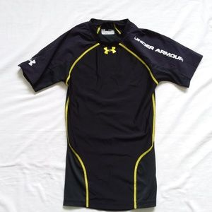 Under Armour Black Compression Tee Men's S